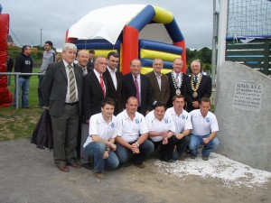 Opening of the All Weather Pitch